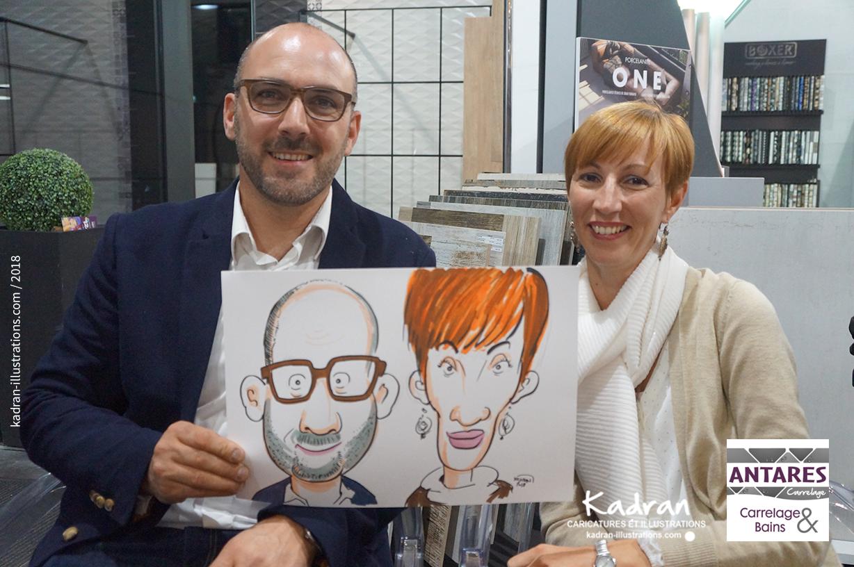 Animation Caricatures Soiree Antares Carrelage Kadran Caricatures Et Illustration Made In Sarthe