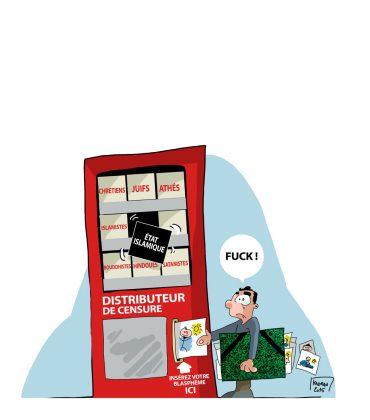 Le distributeur de censure