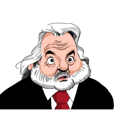 Henri Legarda caricature