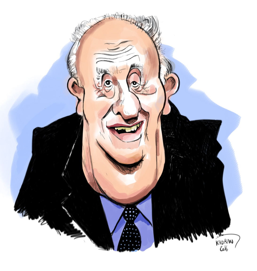 Pierre Tchernia caricature sketch