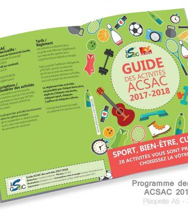 Guide des activités ACSAC 2017-2018