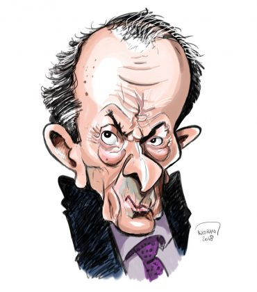 Michel Rocard caricature